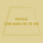 Sizing Images for the Web